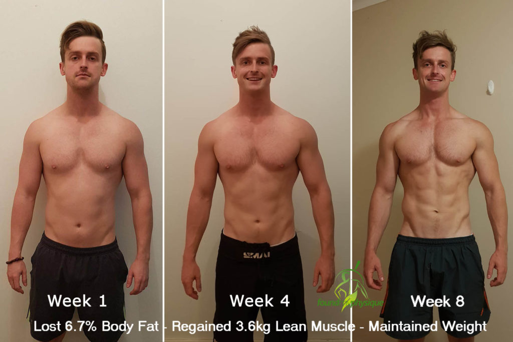 8-Week Intermittent Fasting Shred: Transformation Photos & Nutrition Tips
